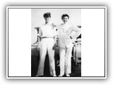 All the nice girls love a sailor - Ian on the right_1958