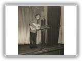 First public appearance at the Seamans' Mission, Adelaide_1956